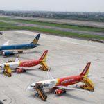 Hãng hàng không Vietjet, Vietnam Airlines , Jetstar Pacific Airlines xếp hạng 7 Sao